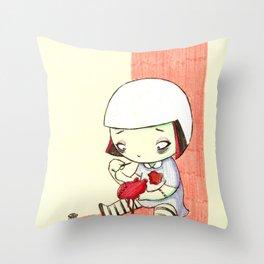 Sewing Heart Throw Pillow