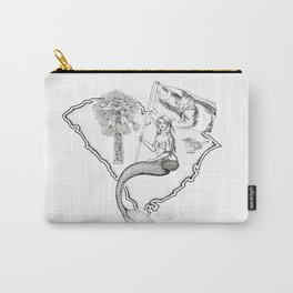 South Carolina Mermaid Carry-All Pouch