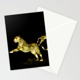 Christmas At The Living Desert Zoo - Cheetah Family Stationery Cards