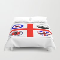 60s Duvet Covers featuring Brit music 60s 70s by MasterChef-FR