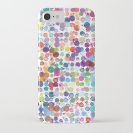 Watercolor Drops iPhone Case