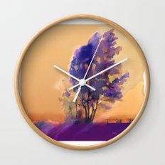 Huron Sunset Wall Clock