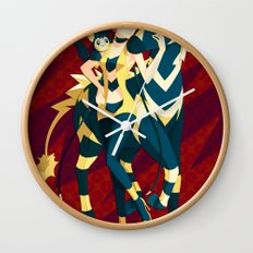 Pokemon gym leader Elesa Wall Clock