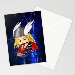 Chibi Thor Stationery Cards