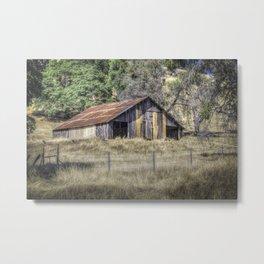 Amador Old Barn Metal Print