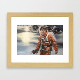 R2, You Stay With The Ship Framed Art Print