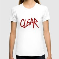 clear T-shirts featuring .: CLEAR :. by Frankie White