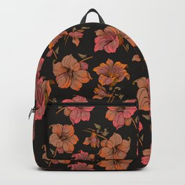 fall tropical floral Backpack