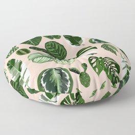 Leaf Pattern Floor Pillow