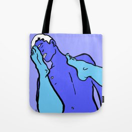 Footy Players Tote Bag