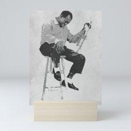Society6 1000 Elements Of Louis Daniel Armstrong Pop-Art - Satchmo - Satch - Pops - Sketch-Art Mini Art Print