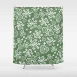 Irish Lace Shower Curtain