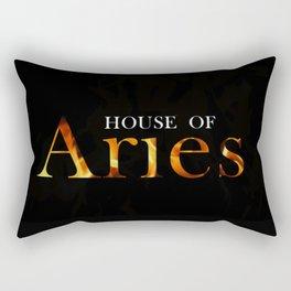 House of Aries Logo Rectangular Pillow