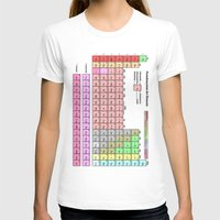 periodic table T-shirts featuring Periodic Table Of  The Elements by GrafXthings