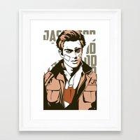 jay fleck Framed Art Prints featuring Jay by Shop 5
