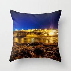 Summer wide nights Throw Pillow