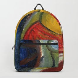 Seated Nude Backpack