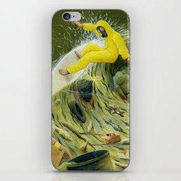 Coastal Pollution iPhone Skin