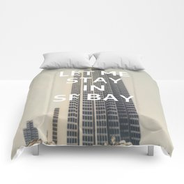 San Francisco (Let Me Stay in SF Bay) Comforters