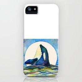 Orca Moon iPhone Case