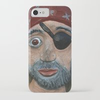pirate iPhone & iPod Cases featuring Pirate by Fine2art