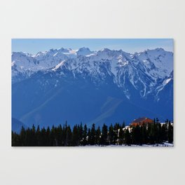 Hurricane Ridge Canvas Print