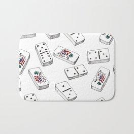 Dominos de Puerto Rico Bath Mat