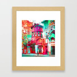 Rouge Framed Art Print