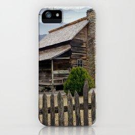 Appalachian Mountain Cabin iPhone Case