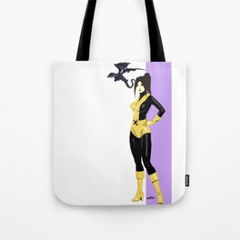 Kitty Pryde & Lockheed  Tote Bag