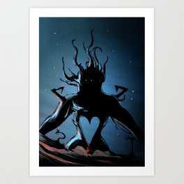 Darkside Art Print