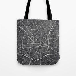 Greensboro Map, USA - Gray Tote Bag