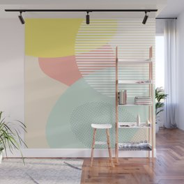 Lost In Shapes III #society6 #abstract Wall Mural