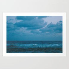 To The Lonely Sea and The Sky Art Print