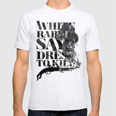 Dress To Kill LARGE Ash Grey Mens Fitted Tee