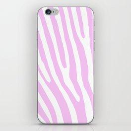 Pink Zebra iPhone Skin
