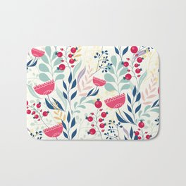 Floral Beauty Bath Mat