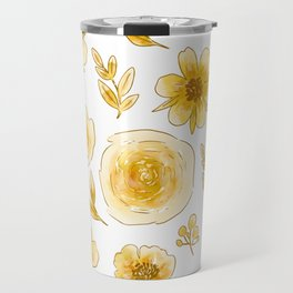 Yellow roses Travel Mug