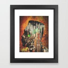 "Big Daddy Kane ""Urban Thought"" Framed Art Print"