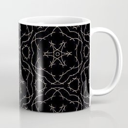 Antique Black and Gold Pattern Design Coffee Mug