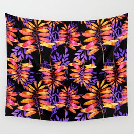 Psychedelic Fall pattern Wall Tapestry