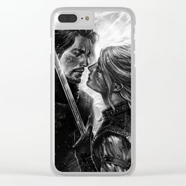 Shall we dance? Clear iPhone Case