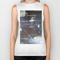 broadway Biker Tanks featuring Midnight Broadway East No.28 by Xi By Xi Chen