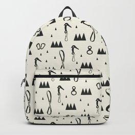White Climbers Backpack