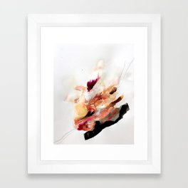 Day 8: The beauty of humanity + the ugliness of humans. Framed Art Print