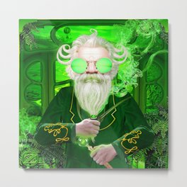 The Wizard from Oz Metal Print