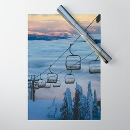 LAST CHAIR Wrapping Paper
