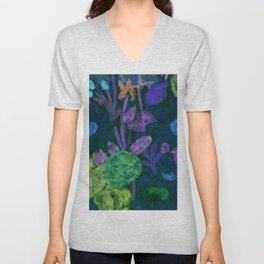 Light Bright Florals Unisex V-Neck