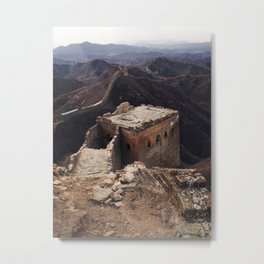 Once a great wall... Metal Print