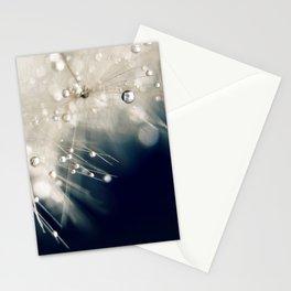 dandelion evening blue Stationery Cards